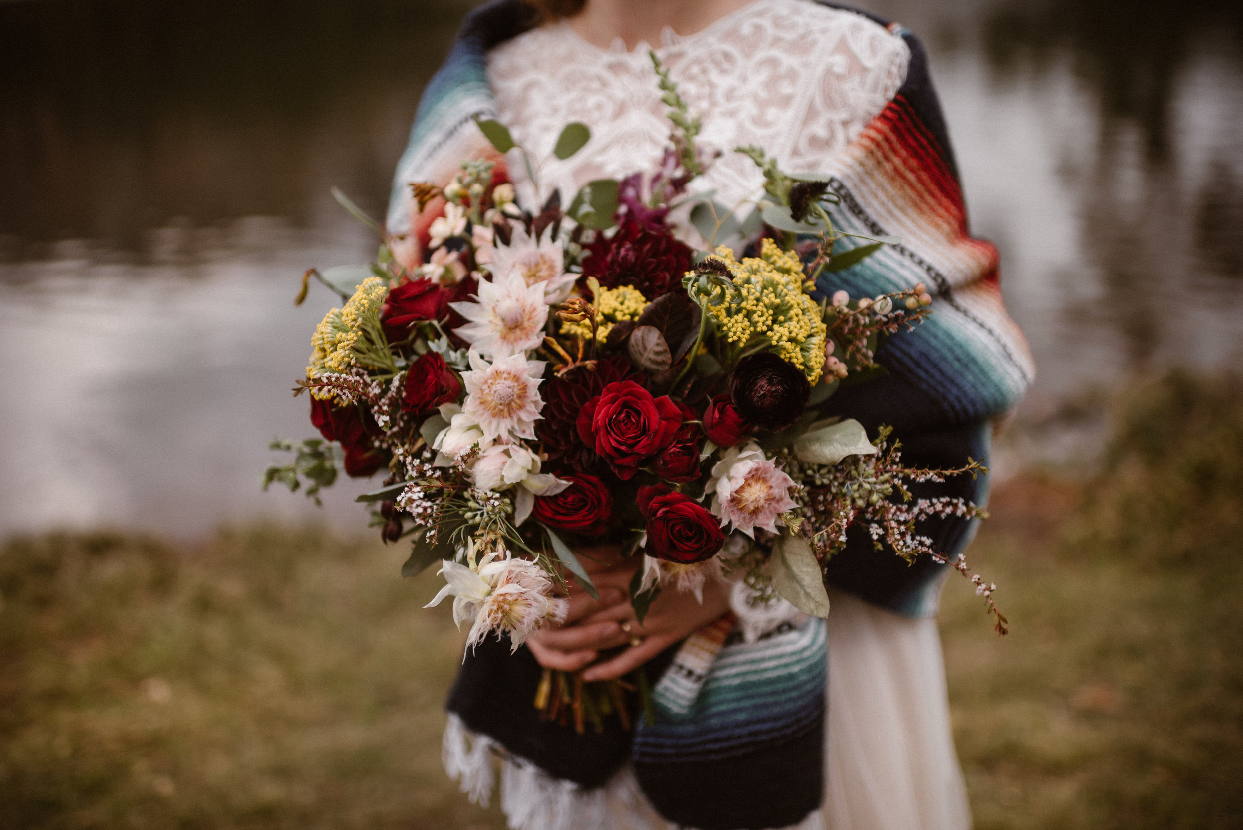 Flowers by Lace and Lilies, wedding flowers, bridal bouquet, elopement, elopement flowers, elopement bouquet, adventure instead, mountain elopement