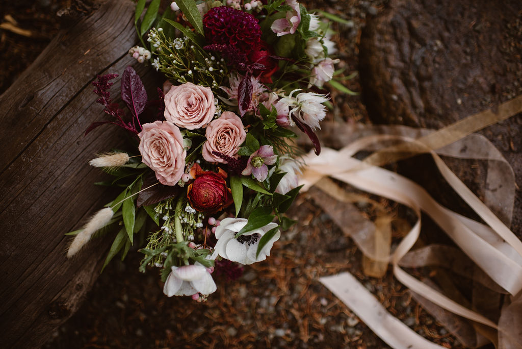Flowers by Lace and Lilies, bridal bouquet, elopement bouquet, colorado wedding, mountain wedding