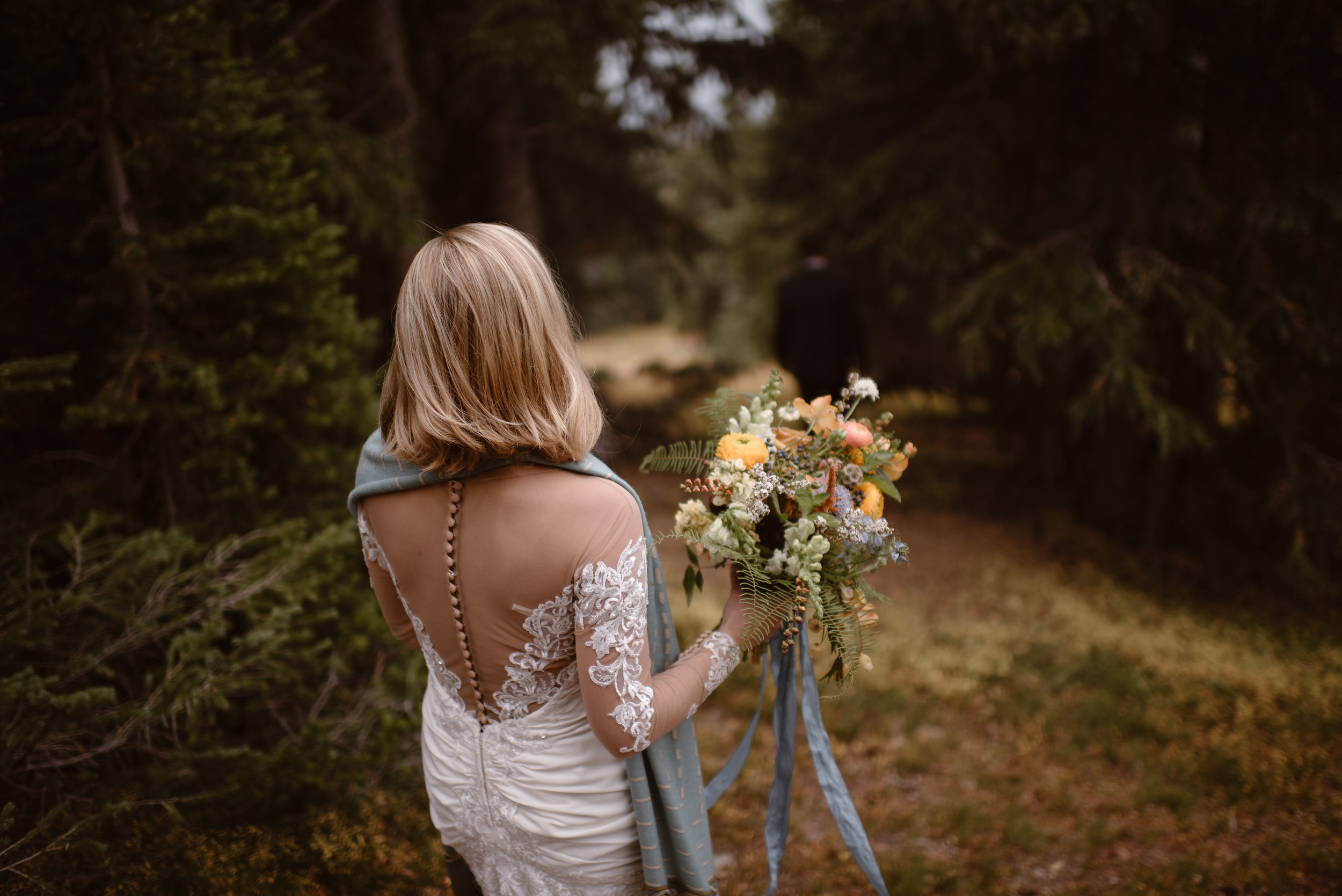 Flowers by Lace and Lilies, bridal bouquet, elopement bouquet, wedding flowers, colorado wedding, colorado elopement, mountain wedding