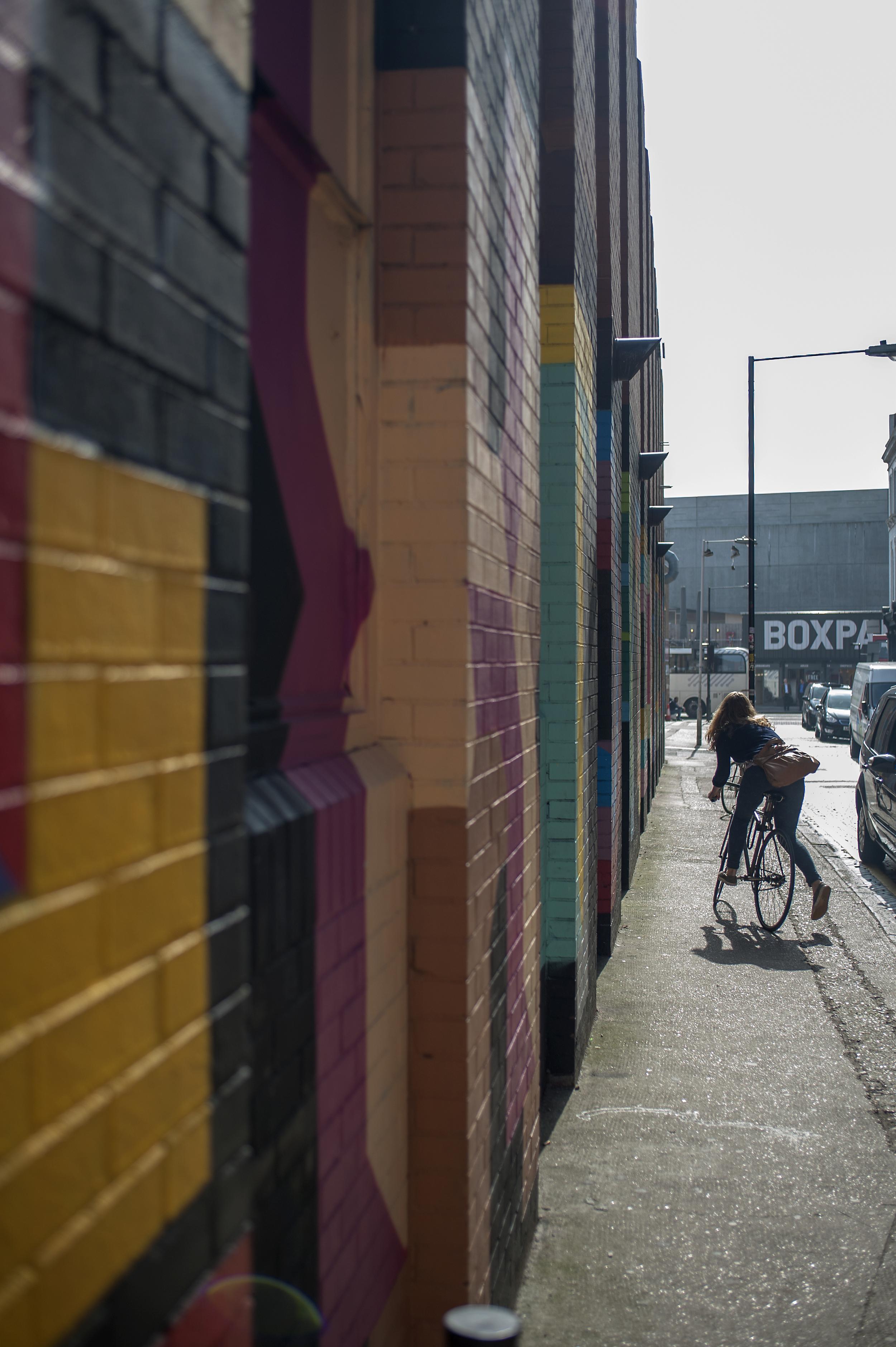 Eine's Ebor Street walls