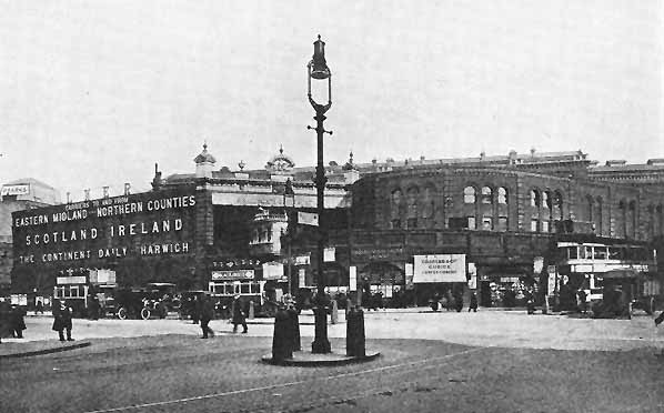 The main entrance to bishopsgate goods yard on Shoreditch High Street, courtesy of  subbrit.org