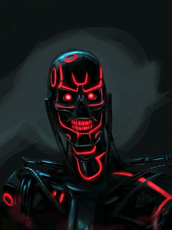 Mash-upTerminator-Tron by wynahiros (via Deviant Art)