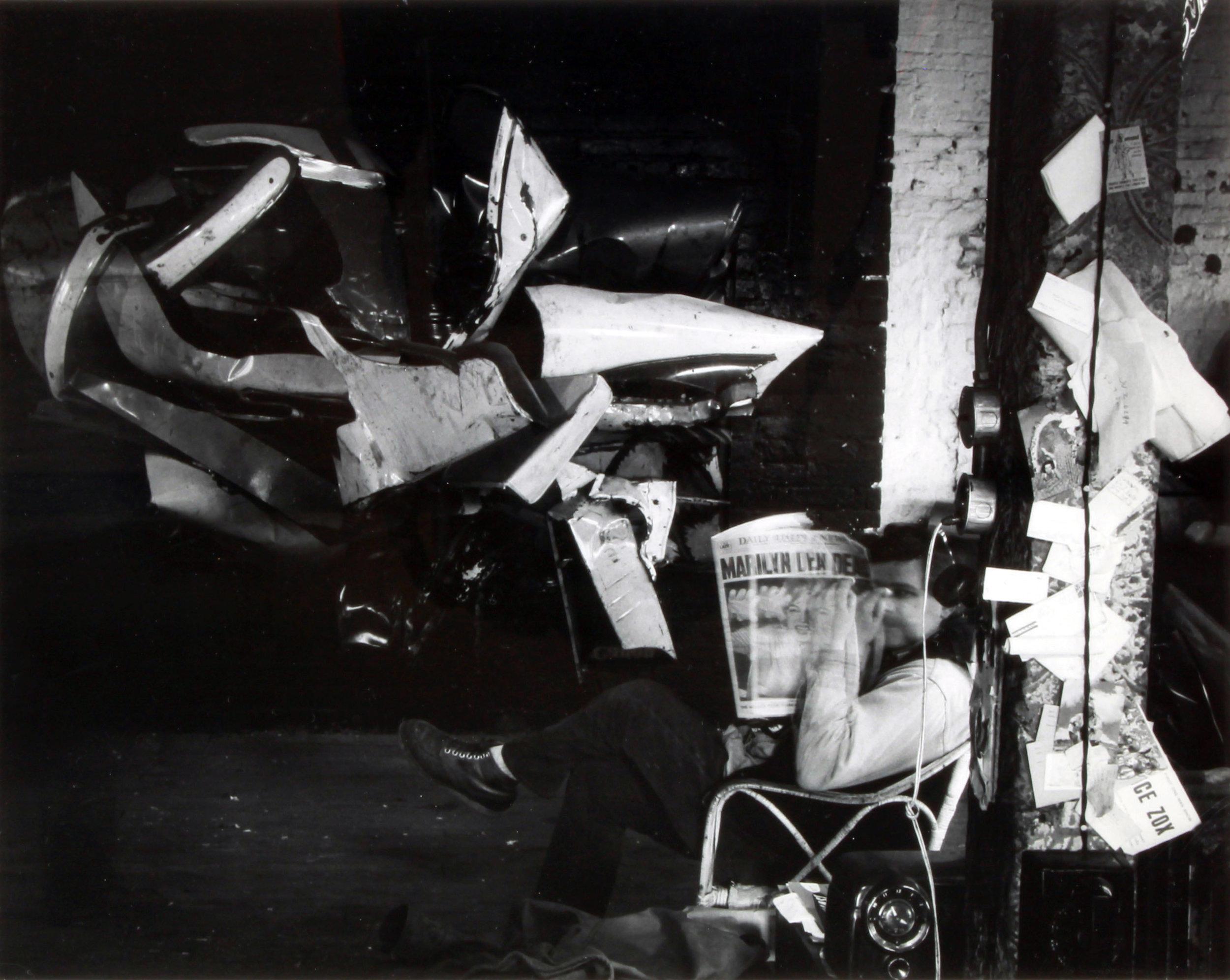 Hollis Frampton | John Chamberlain (1963)