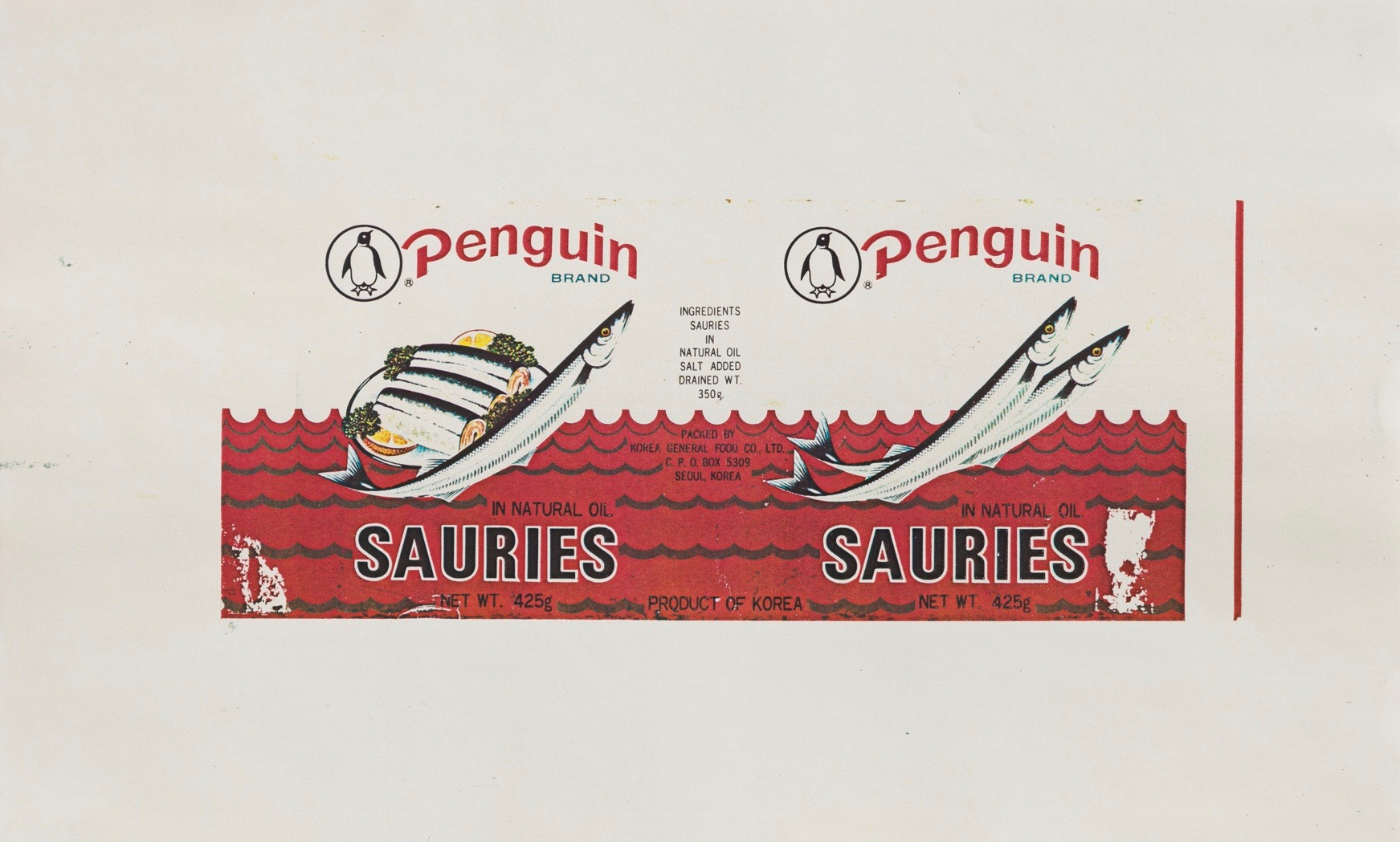 Hollis Frampton | Sauries Brand Penguin (1983)