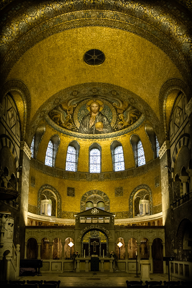 """Inside the Erlöserkirche """"Church of the Redeemer"""""""