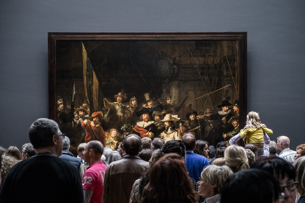 The Night Watch is a popular painting