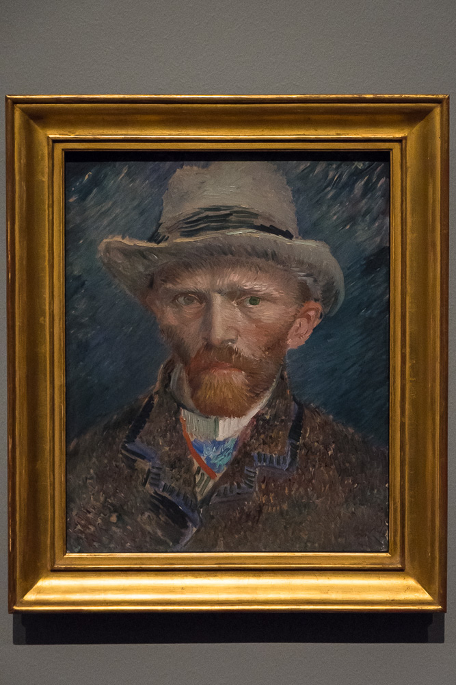 Didn't manage to get to Van Gogh after all that excitement