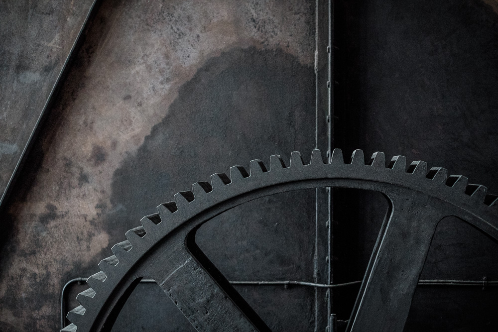 Drive gear in the Coal Washing Plant