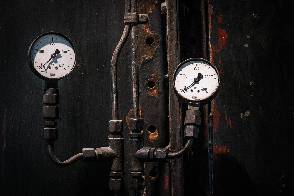 Gauges in the Coal Washing Plant