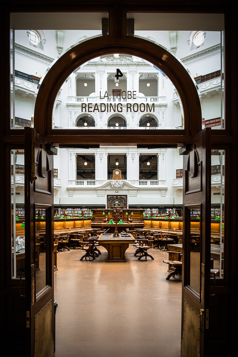 Latrobe reading room
