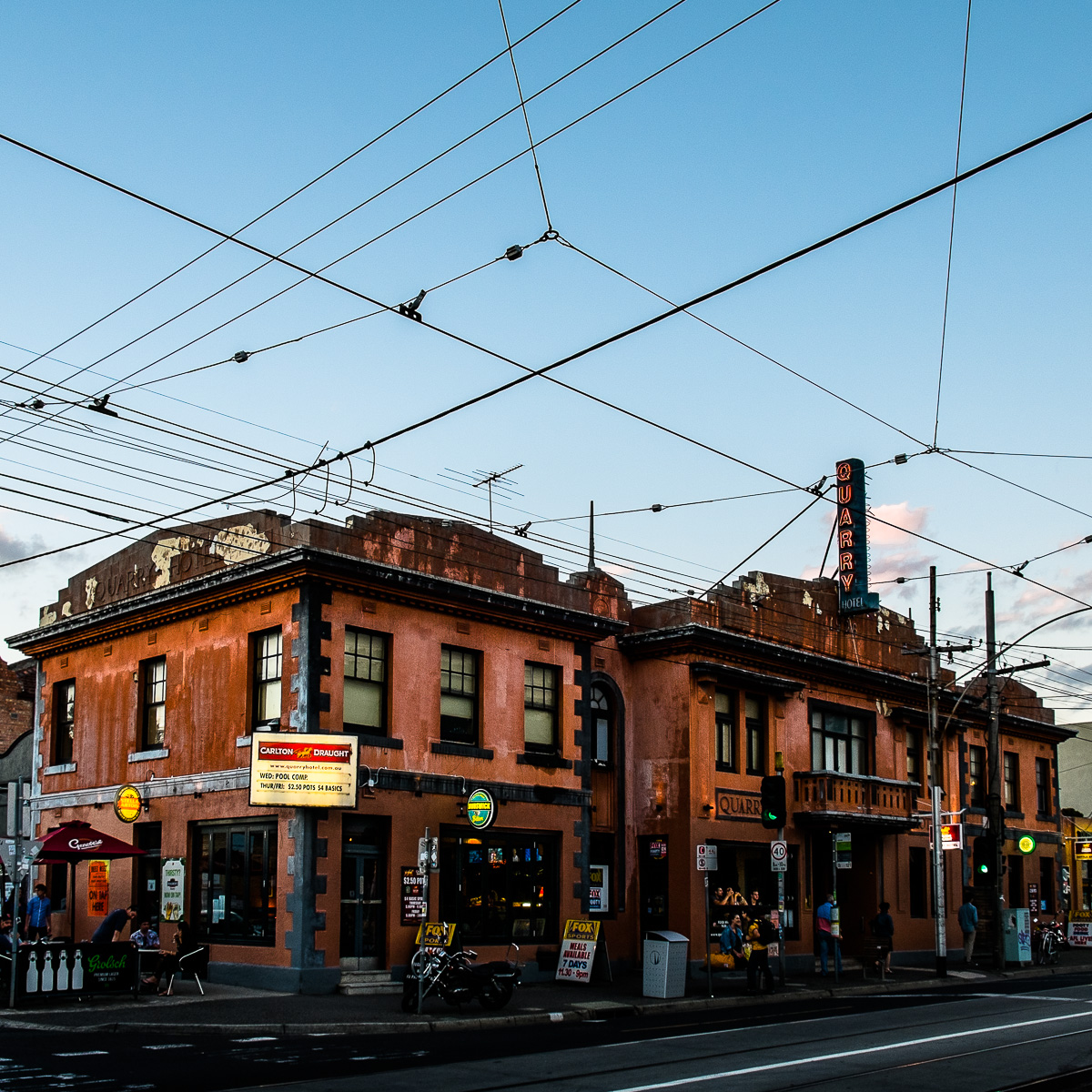 Pub and Tram Lines