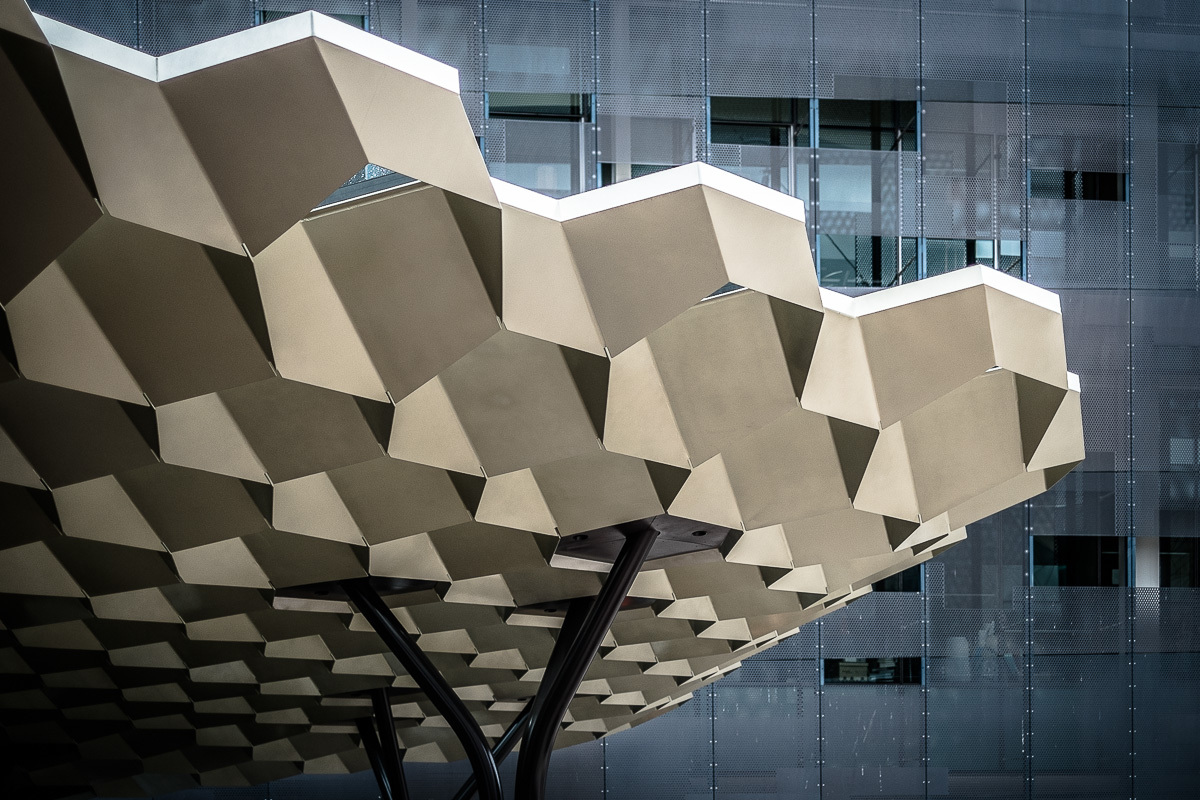 Federation Square abstract