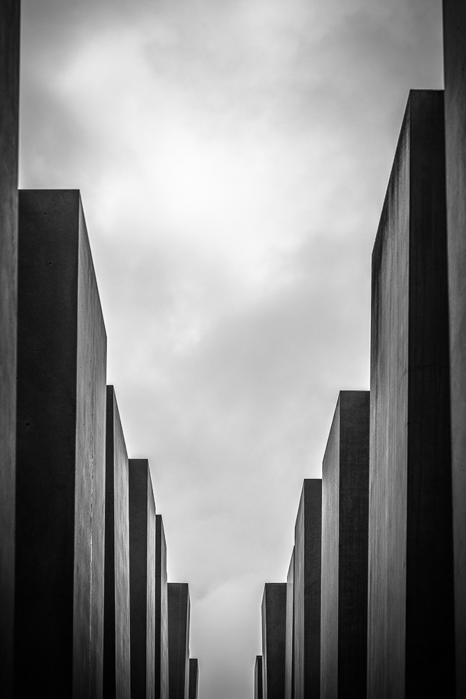 One of many trips to the Memorial for the Murdered Jews of Europe