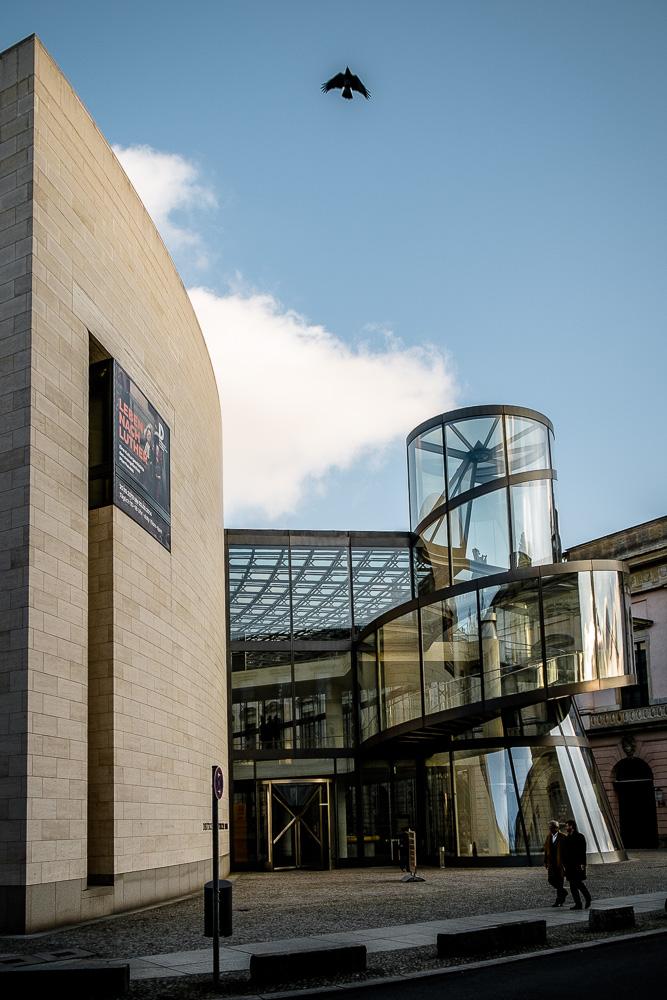 The I.M.Pei designed extension to the Deutches HistorischesMuseum