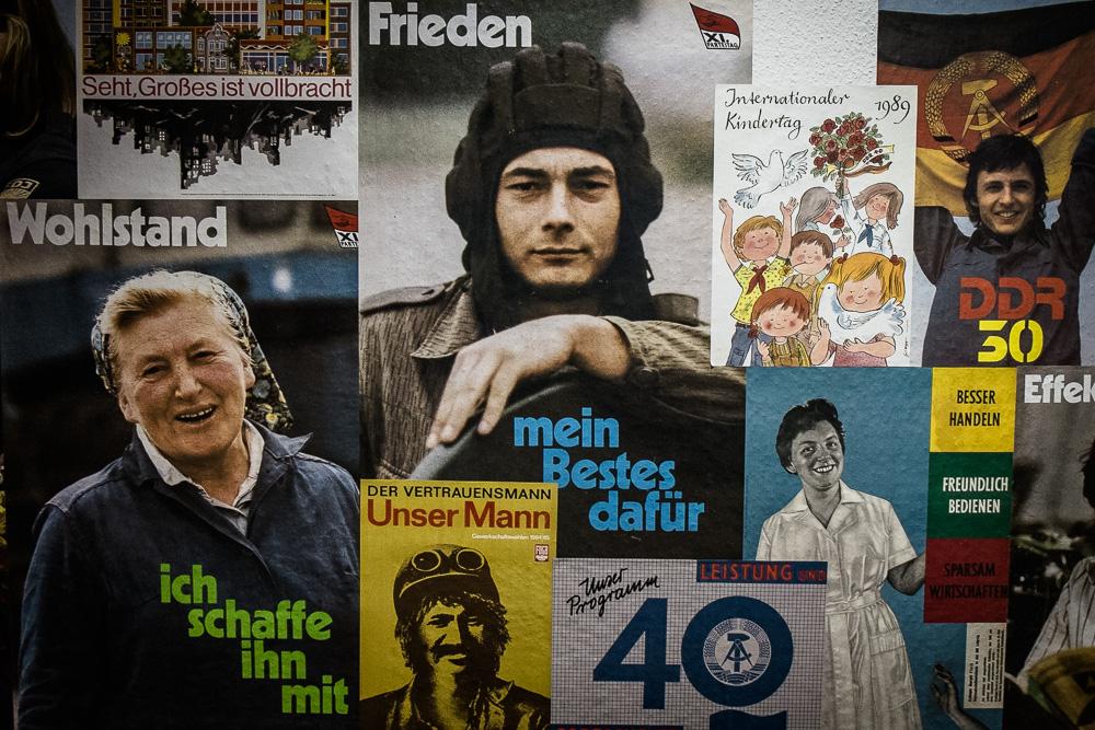 East German propaganda at the Stasi Museum