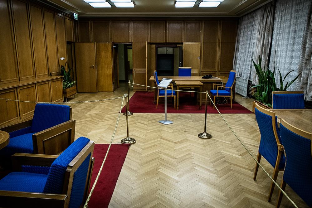 Preserved 1980's office of Stasi boss Erich Honecker