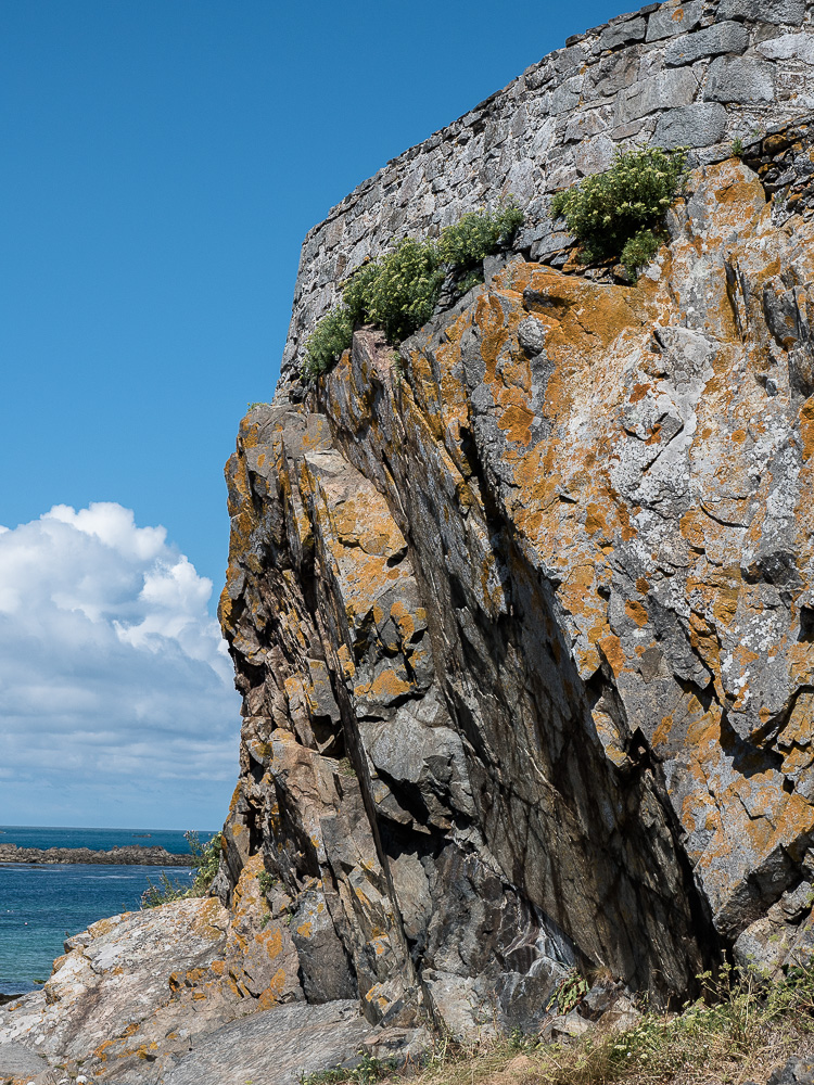 Guernsey cliffs