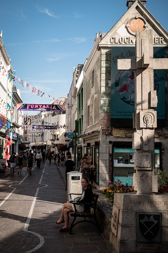 Downtown St.Helier