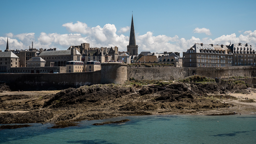St. Malo from Grand Bé island