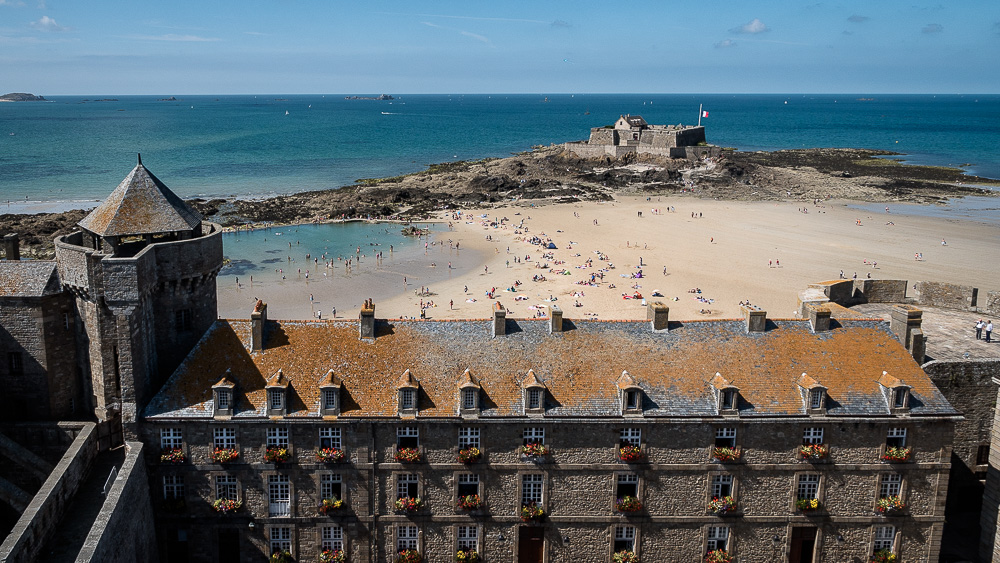 Fort National and the château of Saint-Malo