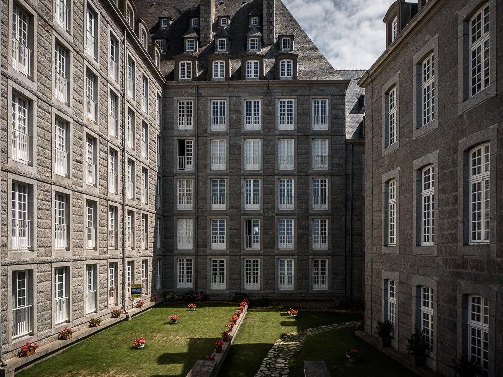 Corsairs mansions in St. Malo