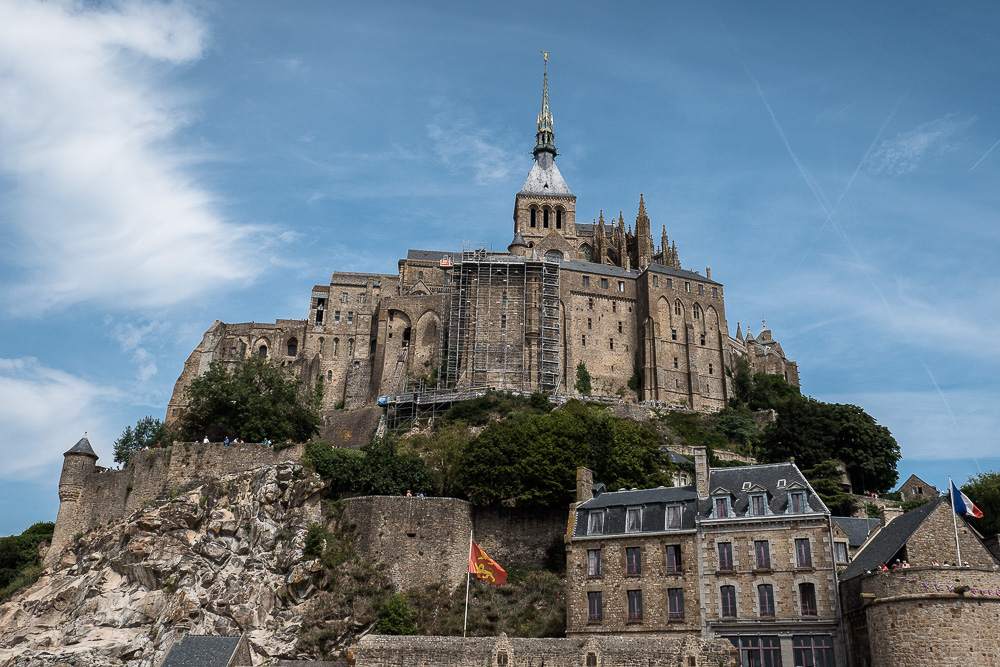 Mont St. Michel and Minas Tirith