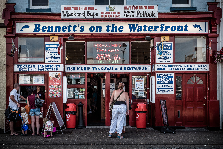 Classic (I assume soggy) British fish & Chips