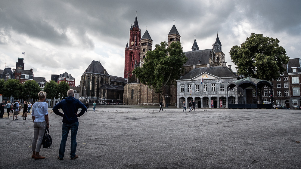 The Vrijthof - Main square in Maastricht