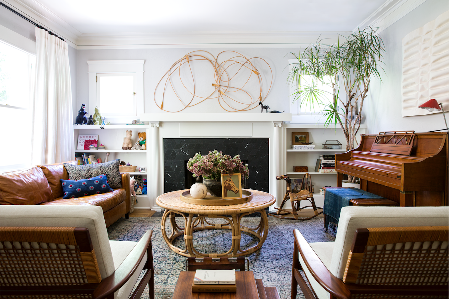 WEST HOLLYWOOD - || JUST PHOTOGRAPHED || a furnishings and art overhaul for a design loving young family