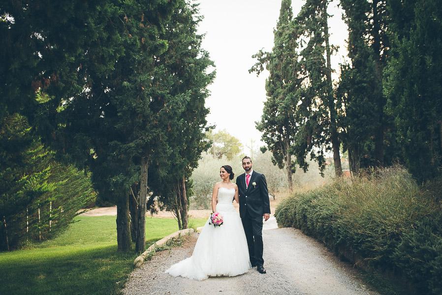 El caminito entre los árboles, a la sombra, era perfecto para hacer este tipo de fotos.