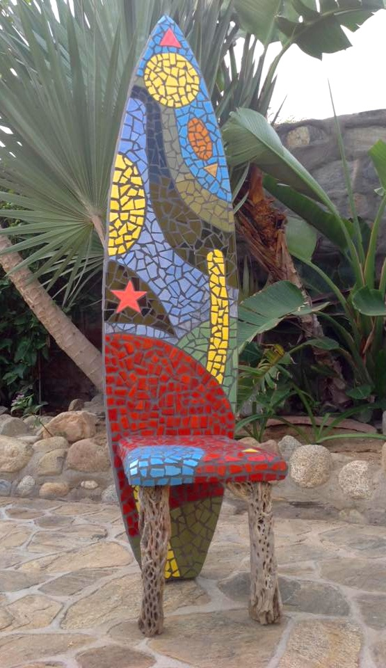 """""""Surf Seat"""" (reverse view)"""