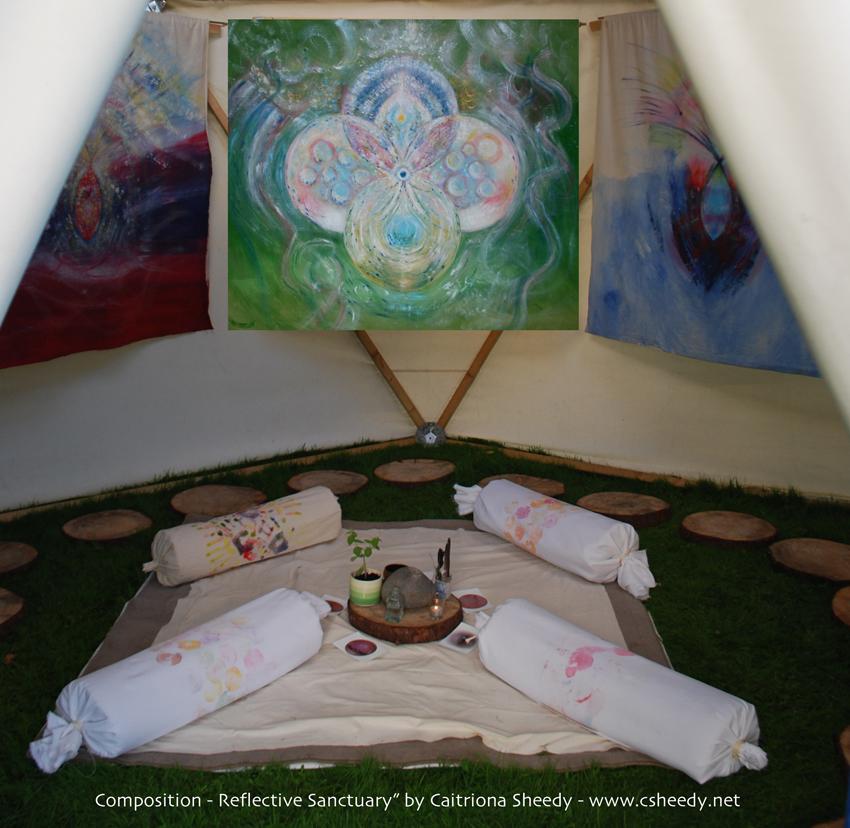 """""""Composition - Reflective Sanctuary"""""""