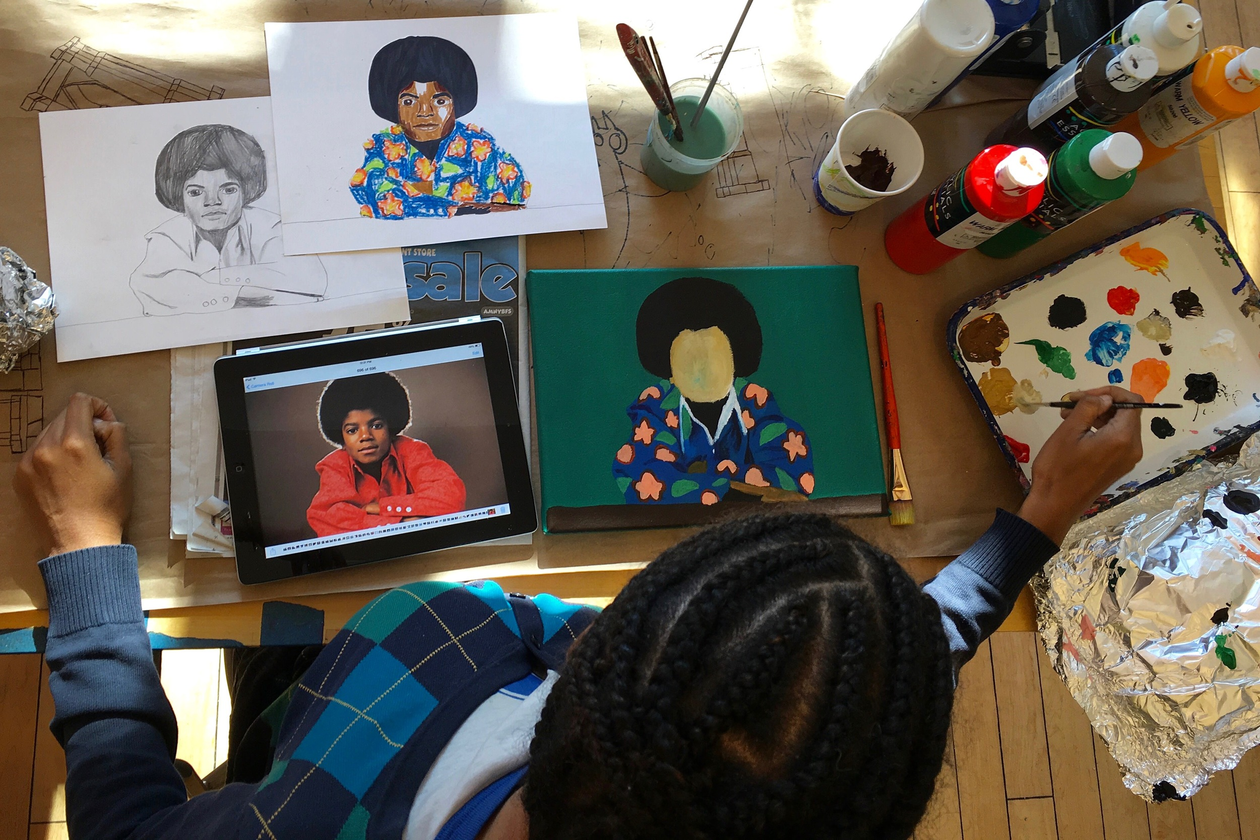 Myasia Dowdell at LAND Gallery