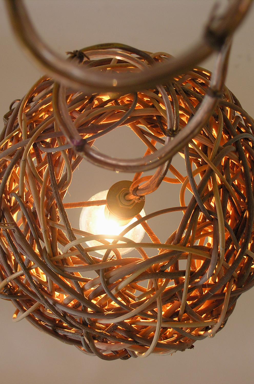 Straight Bell Twinkle Pendant - Detail