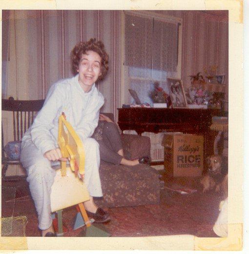 Mom circa 1960something.