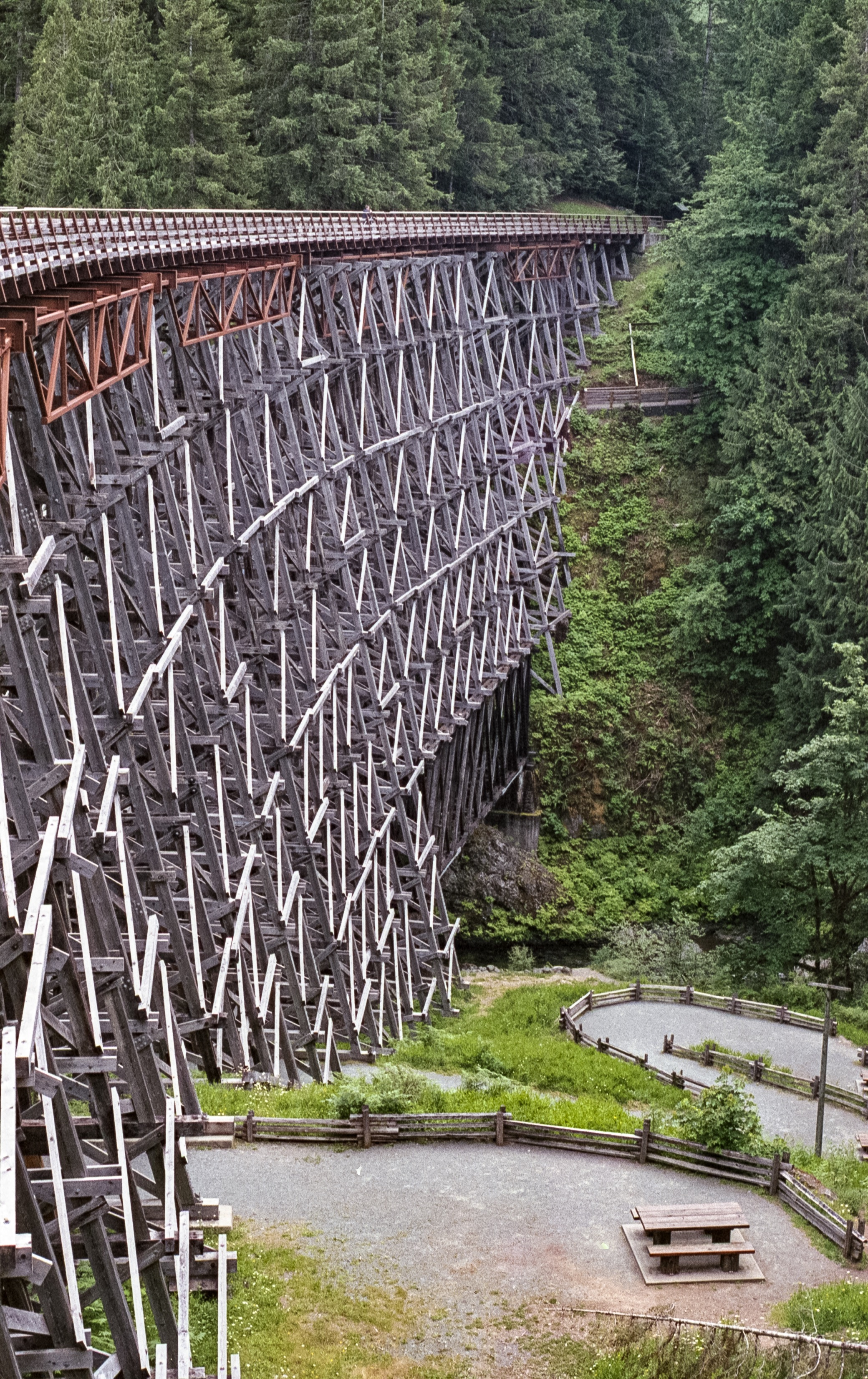 Kinsol Trestle Bridge. Shawnigan Lake BC
