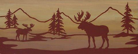S252 - Moose Silouette
