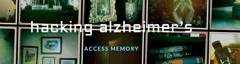 Image: Hacking Alzheimers website