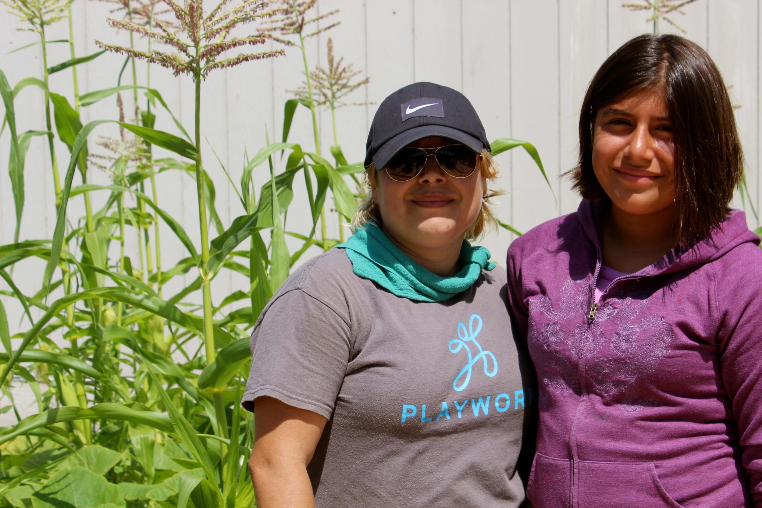 Kytty Naranjo and daughter Keilani Chacon