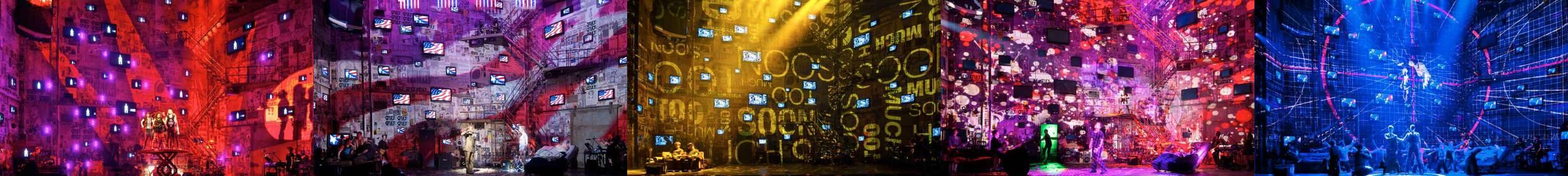 """American Idiot"" St. James Theatre, Broadway"