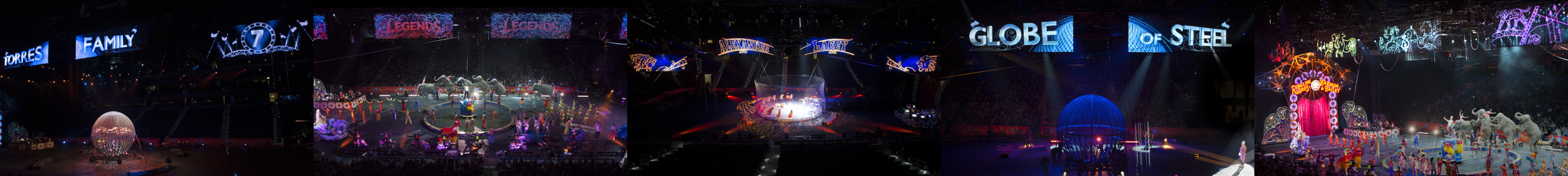 """Ringling Brothers & Barnum & Bailey 144th """"Legends"""""""