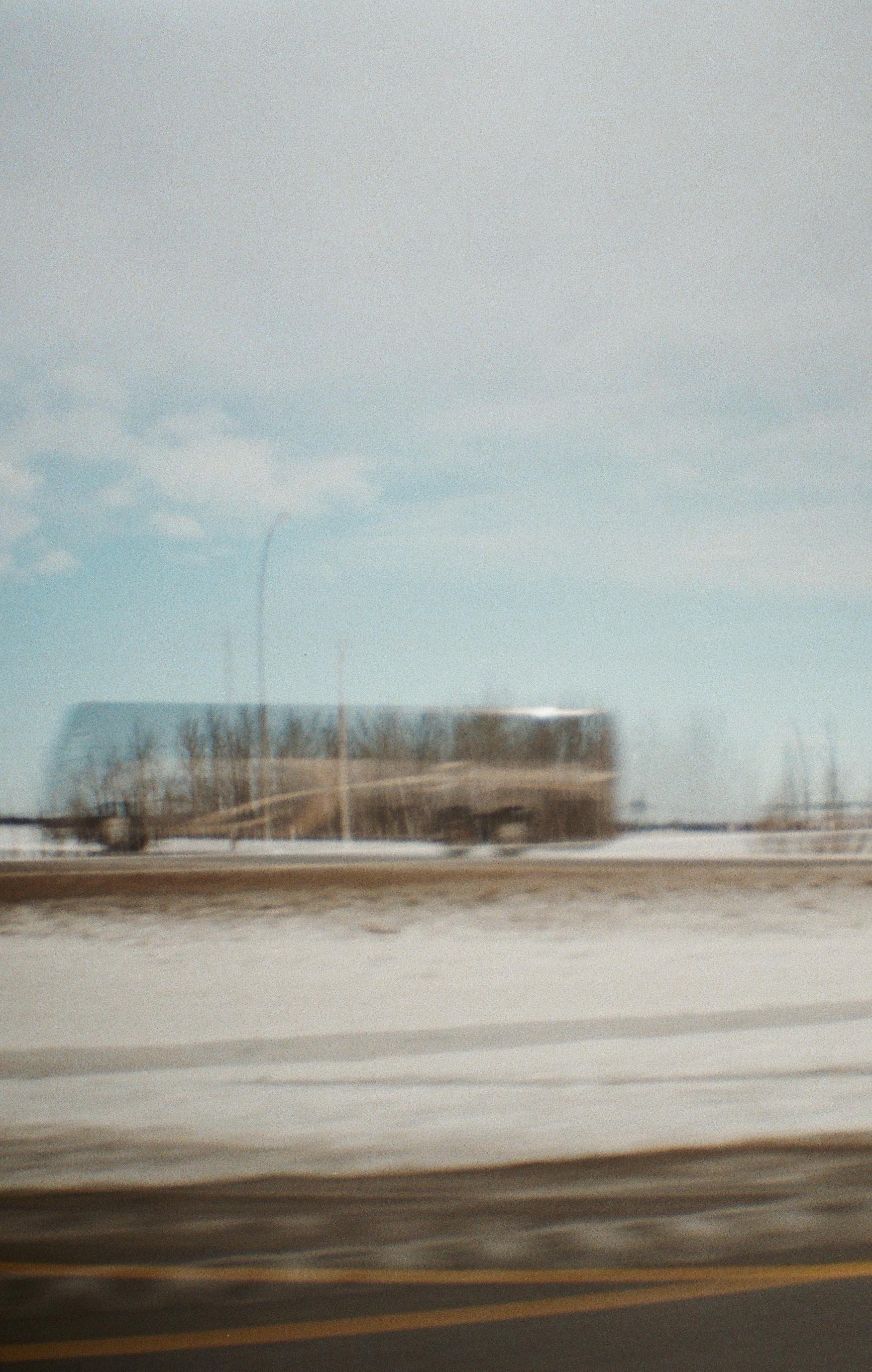 Ghost bus - 35mm - Diana Mini - Fujifilm Superia 400 - double exposure