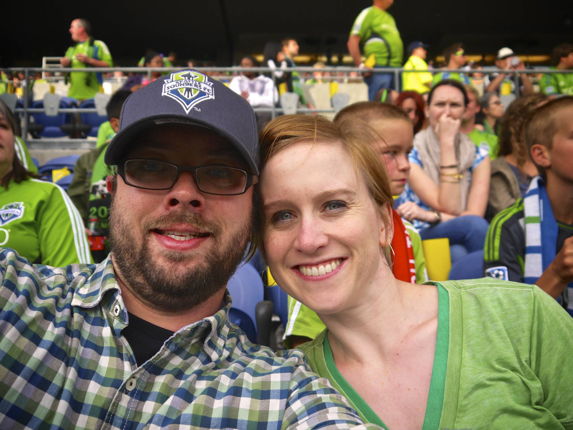 Heather & Josh - Sounder's Newest Fans