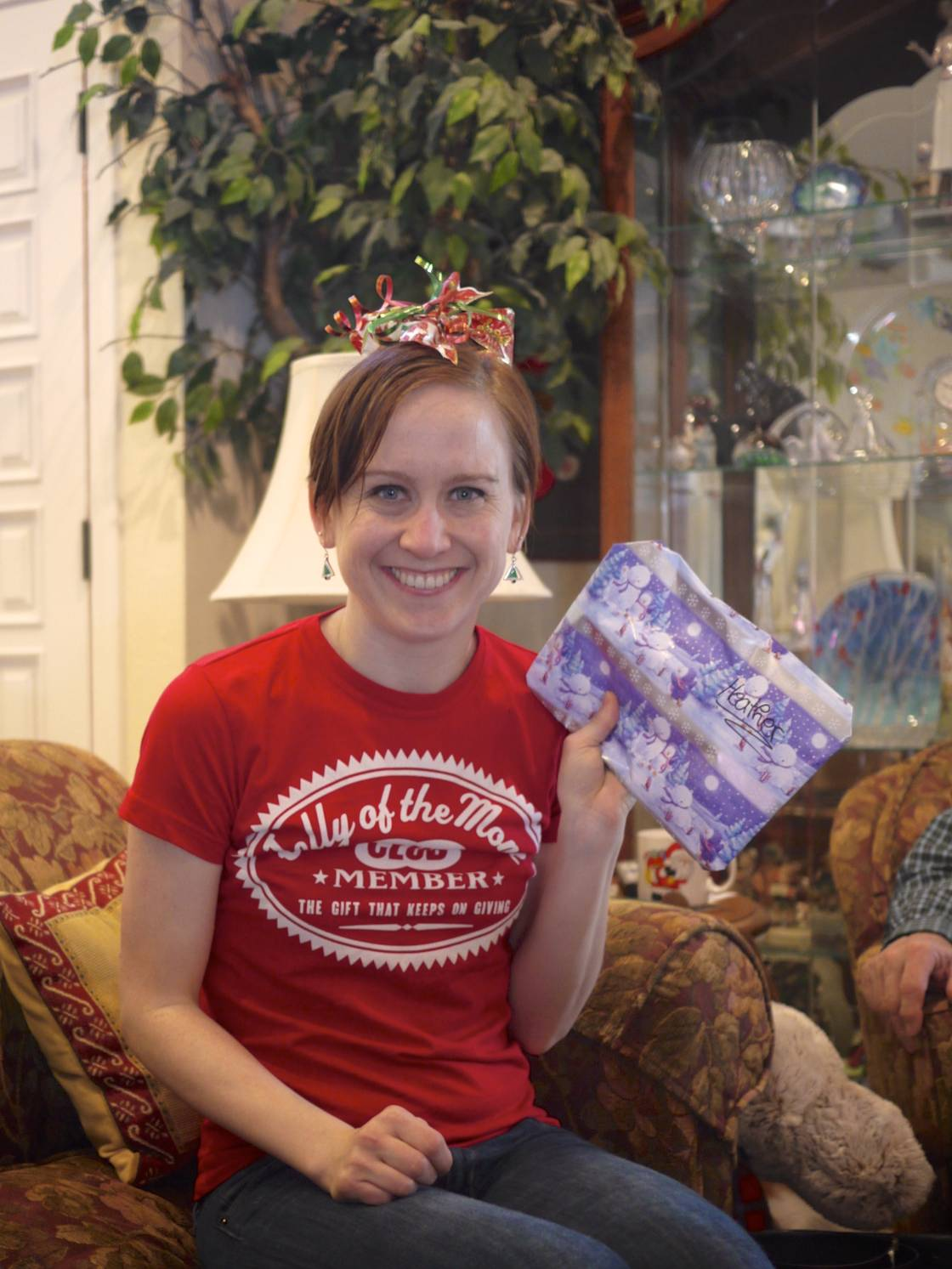 Heather and her Gift.jpg