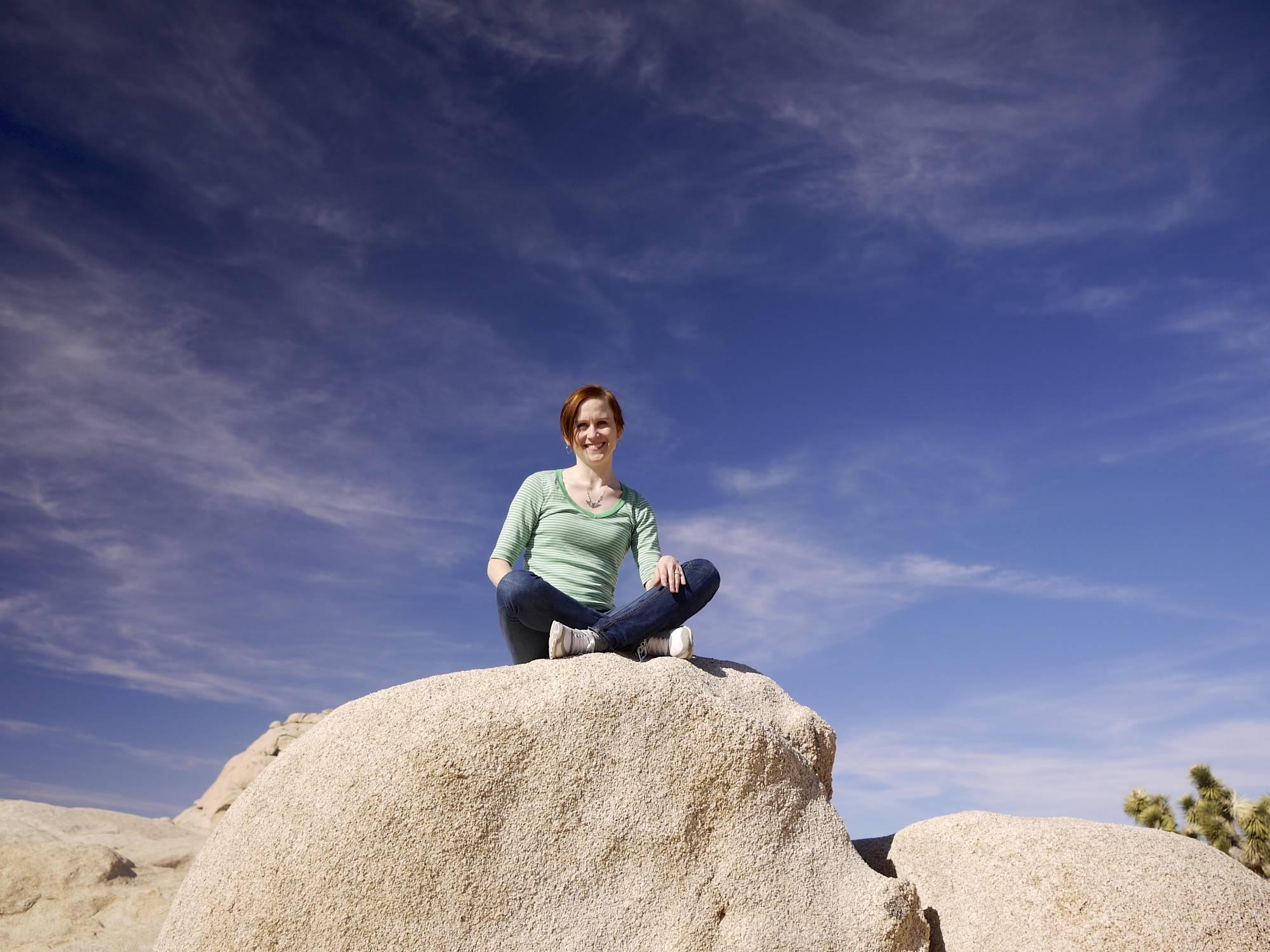 Heather, the Rock Sitter.jpg