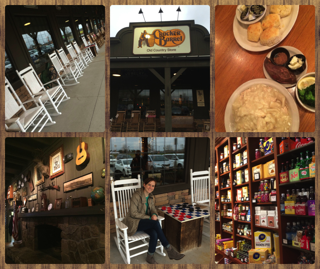 Cracker Barrel experience