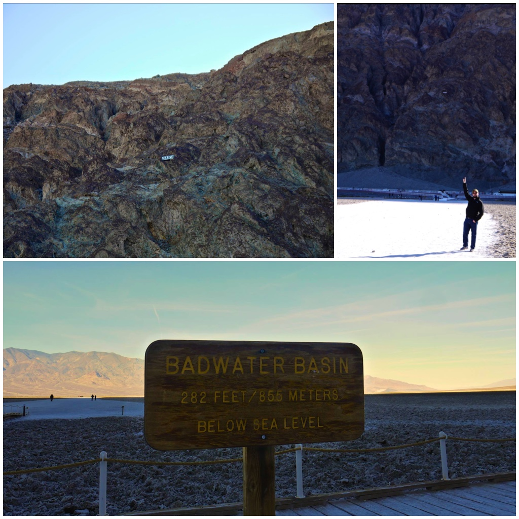 Below Sea Level @  Badwater Basin