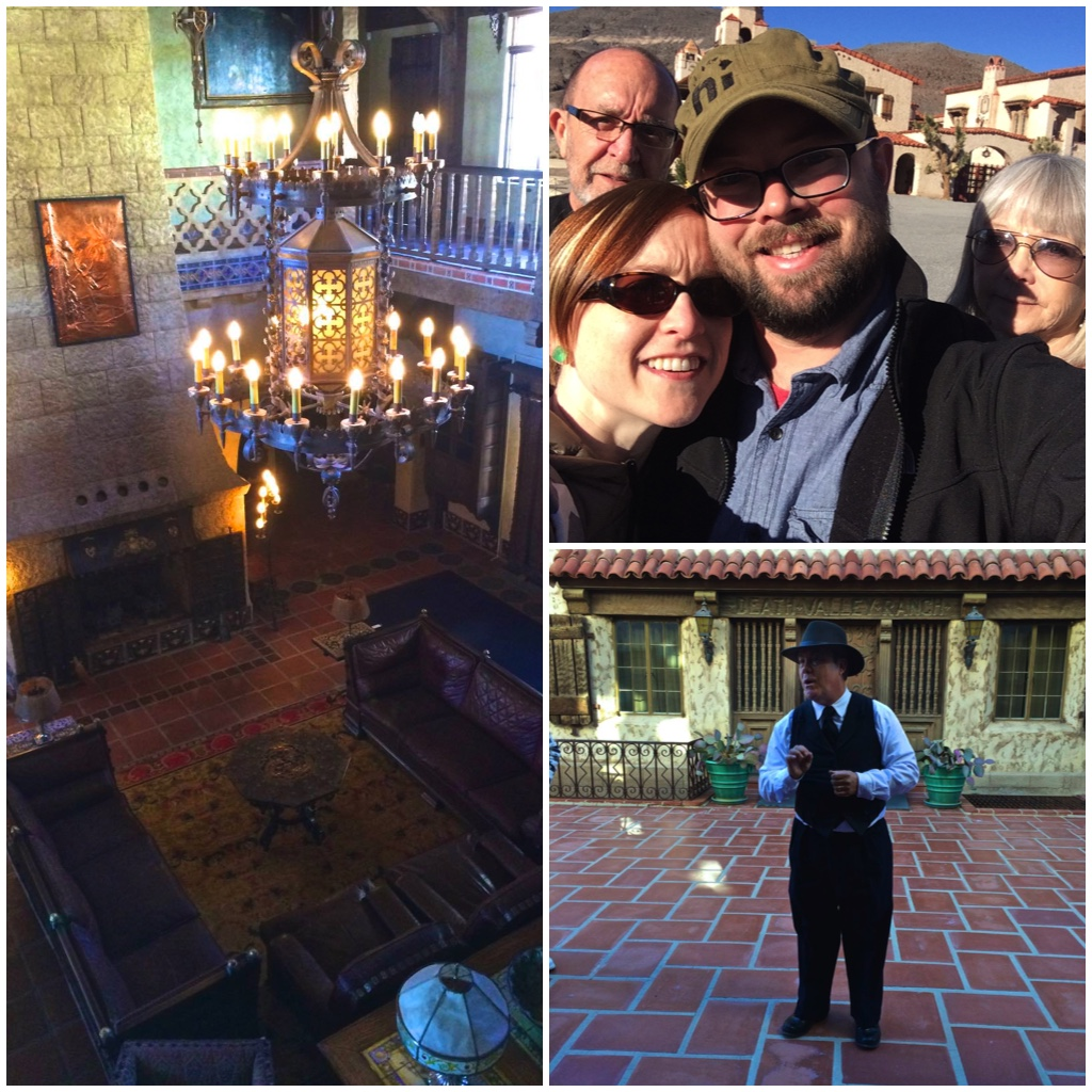 Touring Scotty's Castle