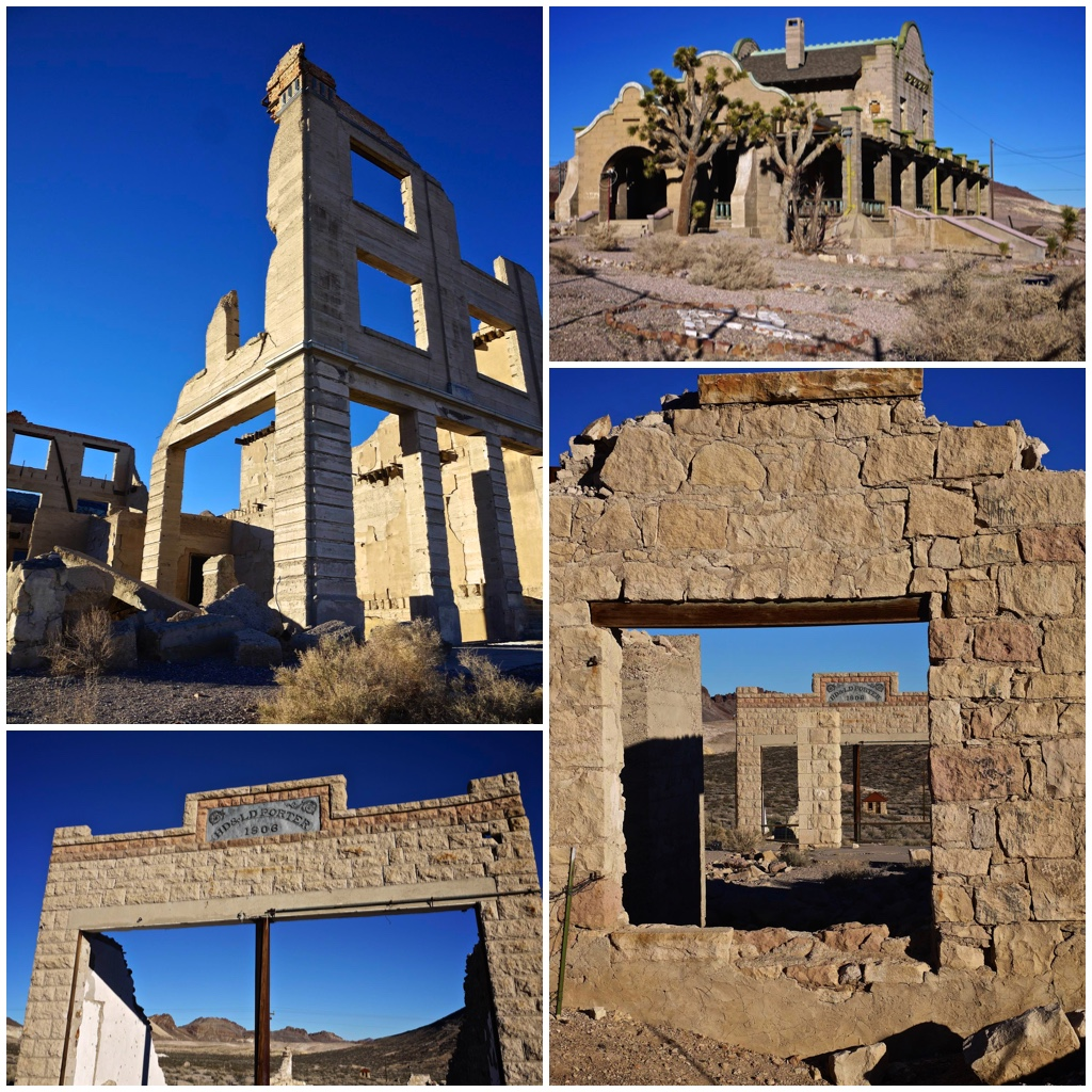 Remains at Rhyolite