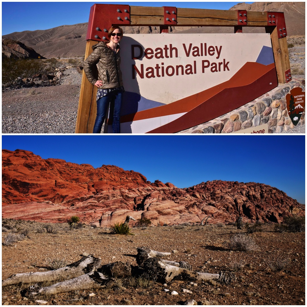 Goodbye Death Valley, Red Rock Canyon